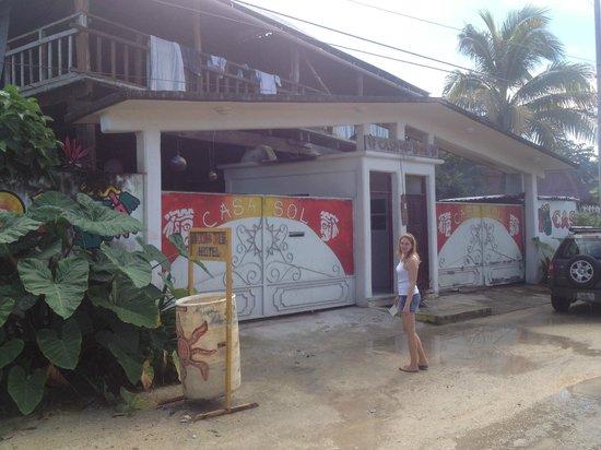 Casa del Sol: the front