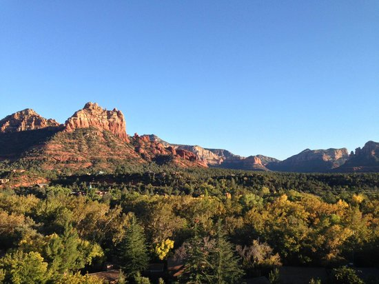 The Orchards Inn of Sedona: Room with a view