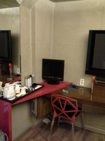 Hotel Tria: PC and amenities