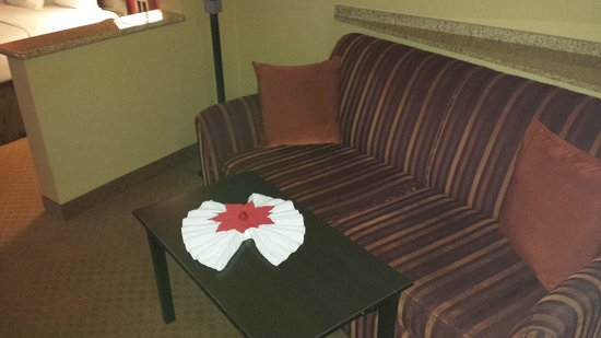 Comfort Suites Ontario Convention Center: More great attention to detail...