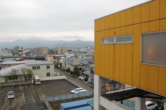 Royal Hotel Odate : 部屋から十和田方向