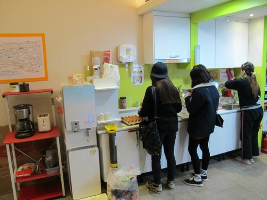K Hostel: 廚房