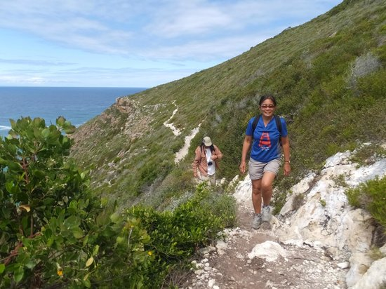 Robberg Nature Reserve : Bay side, the easier side of the trail