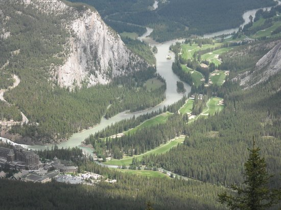 Rimrock Resort Hotel: View into the valley