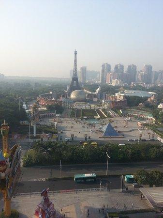 The Westin Shenzhen Nanshan: from Room window -Windows of the world