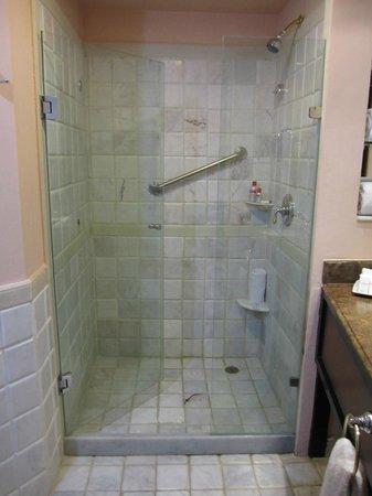 Cozumel Palace: shower