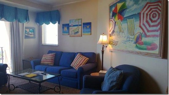 Sandestin Golf and Beach Resort : Living room