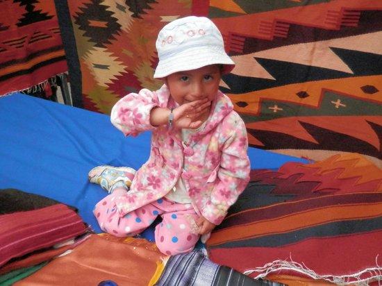 Otavalo Market: Little girl