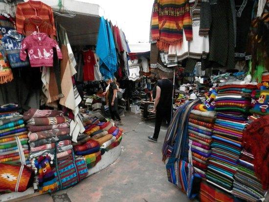 Otavalo Market: Market scenes