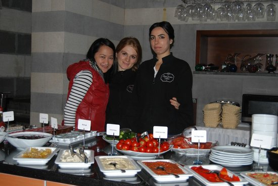 Rose Garden Suites Istanbul : With friendly staff