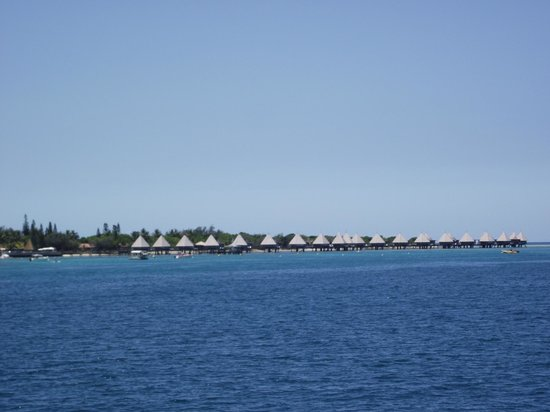 L'Escapade Island Resort: bungalows pilotis