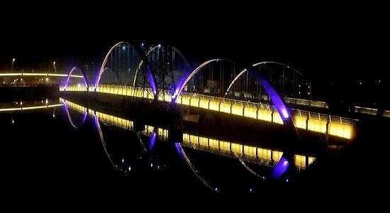Beauty of hatirjheel at night