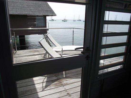L'Escapade Island Resort: vue du deck