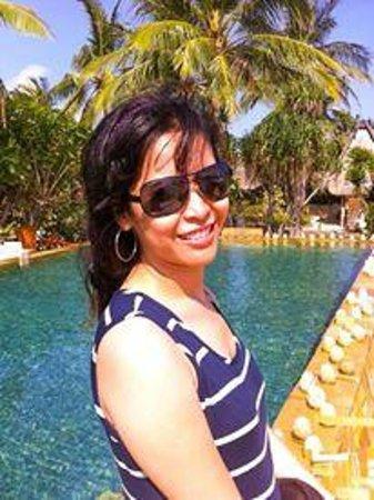 Novotel Lombok: the pool view
