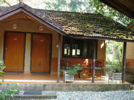 Narayani Safari Hotel: Le bungalow