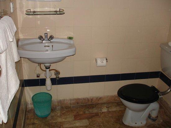 Narayani Safari Hotel: La salle de bain
