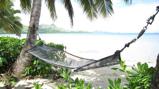 Nukubati Private Island: just outside our room