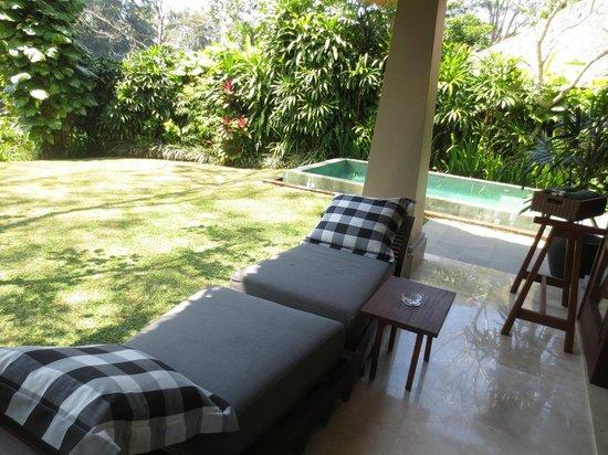 Maya Ubud Resort & Spa : Pool villa garden