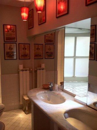 Hotel Cellai : salle de bain