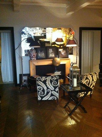 Hotel Cellai : petit salon