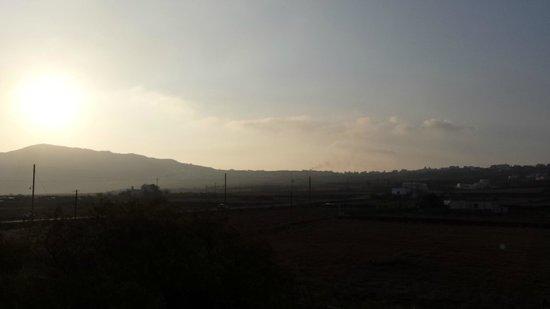 Sunrise from Ecoxenia