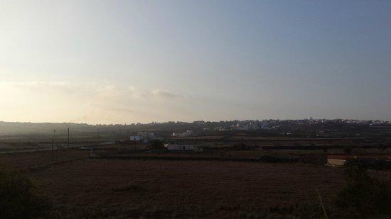 Sunrise, Ecoxenia overlooking Oia
