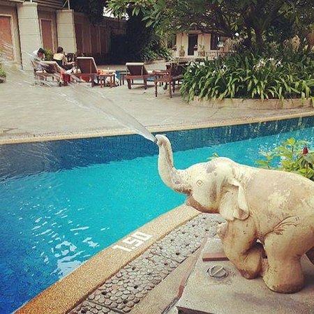 The Bayview Hotel: สระว่ายนำ