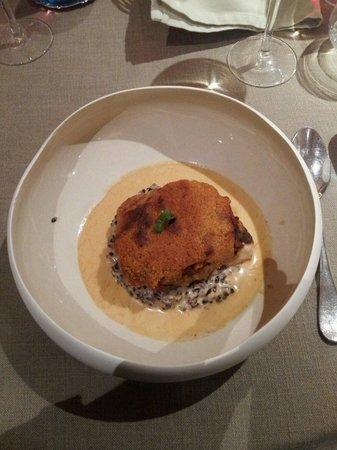 Hôtel Restaurant La Rochette: poisson