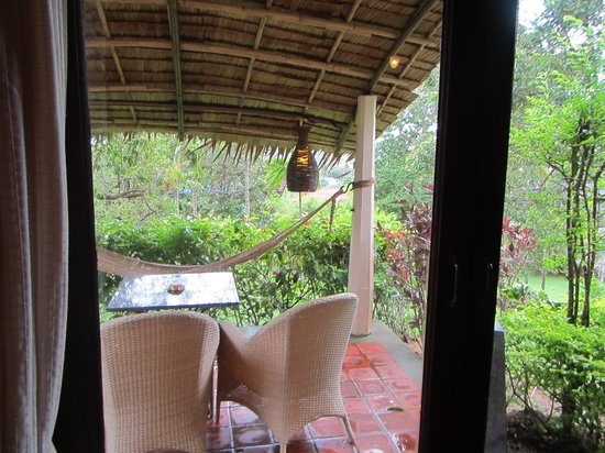 Mangosteen Resort & Ayurveda Spa: Patio