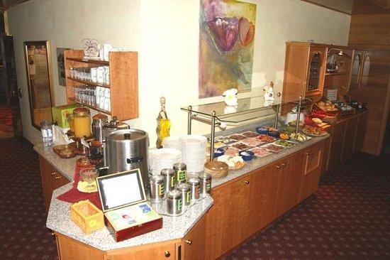 Ferienhotel Gewürzmühle: Frühstücksbuffet, 3/4 Pension