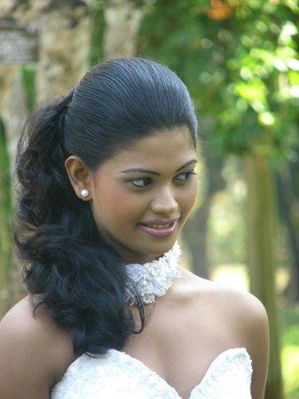 Peradeniya, Sri Lanka: belle mariée