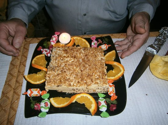 Birthday cake prepared by the kashmir picture of - Kashmir indian cuisine ...