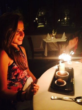 Chez Pierre: fantastic night for the birthday girl