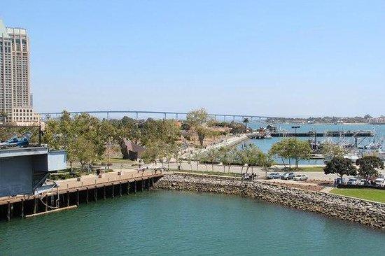 Coronado Bridge: вид на мост