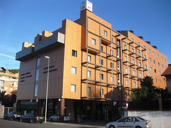 Hotel Macia Real de la Alhambra: ホテル全景