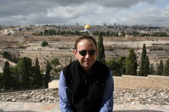 Just Jerusalem Tours -  Day Tours : Me at the Mount of Olives