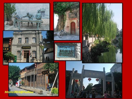 Architectural buildings of Sanfang Qixiang and Zhuzi Workshop: SanFang QiXiang Cultural/Ancient Architecture Building