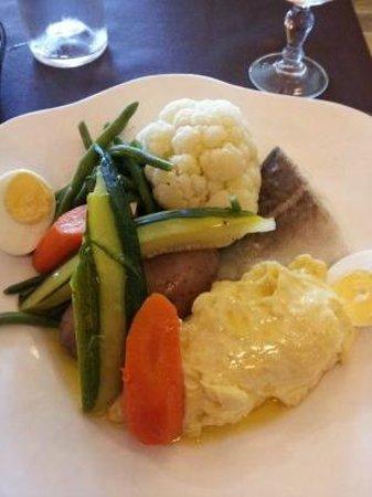 Restaurant de la Reine Jeanne : Plat du jour - Aïoli - 13€