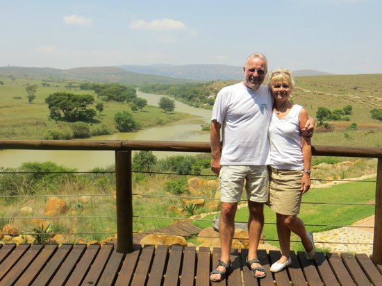 Rorke's Drift Hotel: View from our balcony