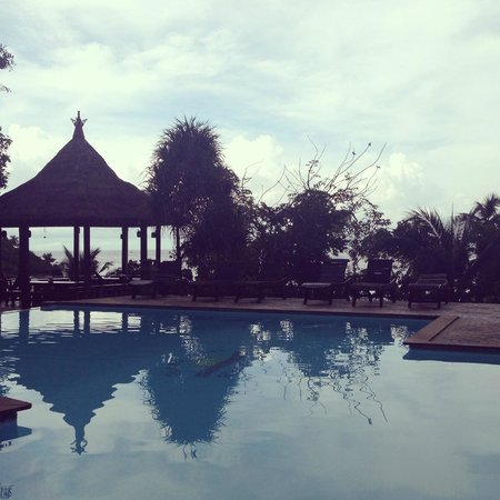 Haad Son Resort & Restaurant: Pool side