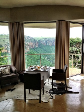 The Gorge Private Game Lodge & Spa: Stunning view!