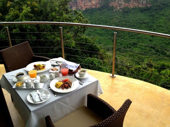 The Gorge Private Game Lodge & Spa: Breakfast, lunch or dinner!