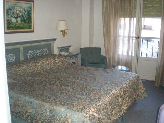 Palacio de los Velada: habitación