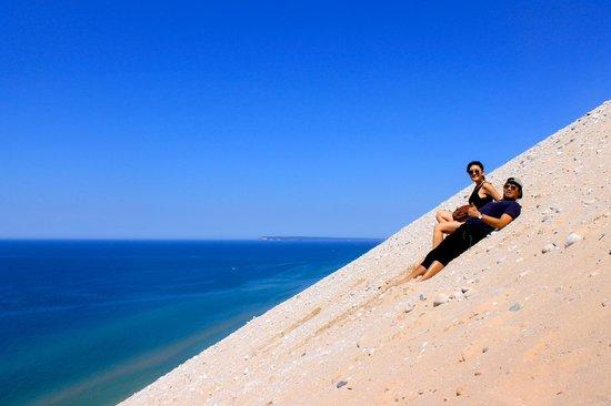 Sleeping Bear Dunes National Lakeshore: sand dune!