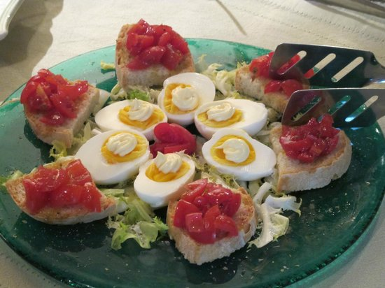 Tenuta Sant'Ilario : на завтраке