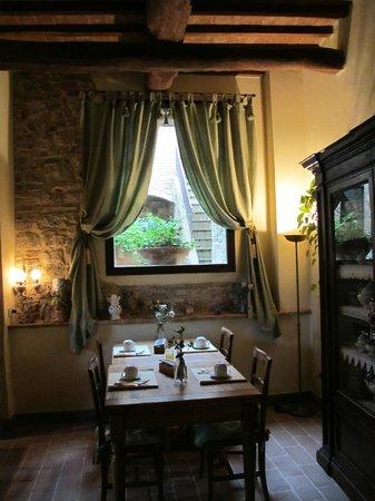 Tenuta Sant'Ilario: на завтраке