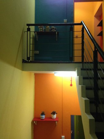 Beary Best! by a Beary Good Hostel!: Staircase