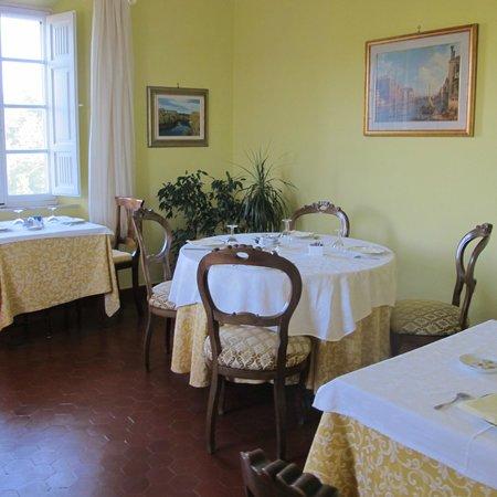 Villa Belvedere: salle des petits déjeuners