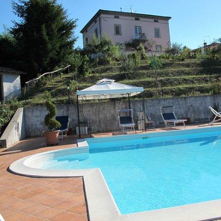Villa Belvedere: la piscine