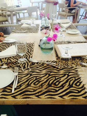 Karma Kandara: Breakfast at Di Mare restaurant